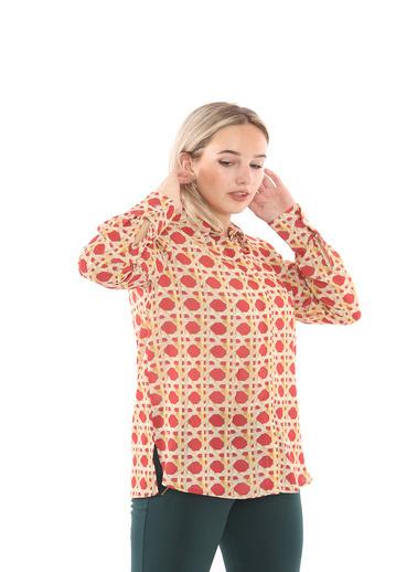 Sense Gömlek Kırmızı